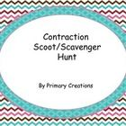 This is a fun way for students to practice contractions.  You can use these cards to play Scoot or to go on a Scavenger Hunt.   Follow me to see gr...