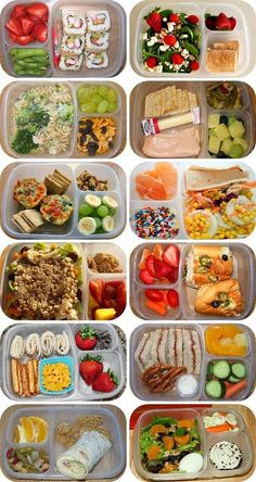 Healthy lunch snacks for kids Lunch To Go, Lunch Meal Prep, Healthy Meal Prep, Healthy Snacks, Healthy Recipes, Healthy Packed Lunches, Lunch Kids, Bento Box Lunch For Adults, Detox Recipes