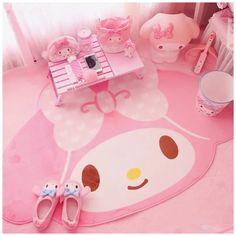 Pink Carpet, Carpet Mat, Rugs On Carpet, Carpet Runner, Hotel Carpet, Black Carpet, Hello Kitty Bedroom, Cat Bedroom, Hello Kitty Room Decor