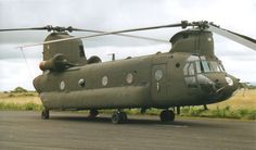 US ARMY CH-47 Chinook Helicopter posted @ StrangeMilitary website