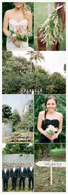 top right picture--options for ceremony?  seems simple enough that amateurs could handle this...