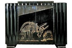 Ruhlmann and Jean Lambert Rucki( maybe,Jean Dunand?)- Donkey Cabinet,1925.  (One of my favorite pieces of Art Deco, and furniture, period!)