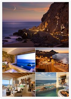 Capella Pedregal in Cabo San Lucas Mexico. This is a newer resort located on the tip of the Baja Peninsula, where the Pacific Ocean meets the Sea of Cortez.