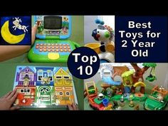Top 10 Best Toys for 2 year old! Great list to help with Christmas shopping for the little person in your life!