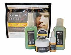 Yum Gourmet Skincare Travel Kit   Men On The Move   Top Travel Kits for the Eco Road Warrior   Organic Spa Magazine Green Guys   #OrganicSpaMagazine