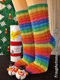 Nachdem die ursprünglichen Socken für die Lehrerin des Teenagers ja leider viel zu klein geworden waren, musste ganz kurzfristig noch ein ne...