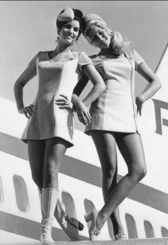 Minigonna assistenti di volo