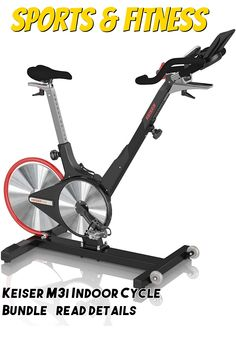 (This is an affiliate pin) Keiser M3i Indoor Cycle Bundle Cardio, Cycling, Gym Equipment, Training, Indoor, Bike, Fitness, Sports, Interior