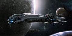 study space ship
