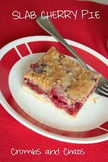 Slab Cherry Pie