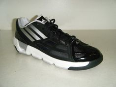 """Adidas Shoes On Sale Adidas Men's Light'em Up Lo (black/metallic silver/runwhite) Sz 11.5 US                                 Synthetic                    manmade sole                    Platform measures approximately 0.25                    This shoes / sandals / boots style name or model number is Light'em Up Lo                    Color: Black1/MetSil/RunWht                    Material: Synthetic                    Measurements: 0.25"""" heel                    Width: M"""