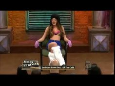 Jerry Springer Show I February 20 - 2015 I Lesbians Come Out  Of The Col...
