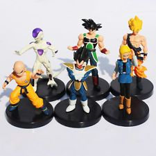 figurine dragon ball DBZ DBGT MANGA PACK DE 6 FIGURINE ORIGINAL OOB GOKU TRUNCK