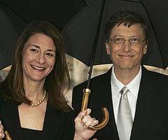 Bill & Melinda Gates, for their philanthropy