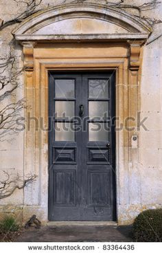 english country manor front door | Front Door Of A Georgian Era English Manor House Stock Photo 83364436 ...