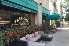 Pastiche at Hotel Metro opens tomorrow. And Third Space Brewing to open soon