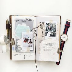 Little moments everyday #travelersnotebook #journal #scrapbook #stationery #danielwellington #instaxmy #instaxclub #funifilmmy #polaroid #nature #stationery #文房具 #手帳好朋友