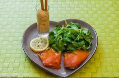 Photo de recette de truite fumée purée de pois chiche Kilomètre-0, blog de…
