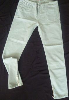 Kuyichi Lady Organic Cotton Denim Stretchy Slim Skinny Jeans Ankle Grazer 12/14