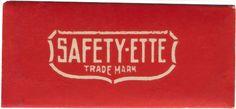 Safety-ette trademark