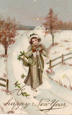 {Vintage Postcards} — Sugar Lump Studios - Artwork by Nancy Maxwell James