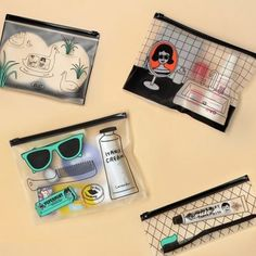 The Ooh La La PVC Pouch is one of many adorable and functional products in the MochiThings collection. Discover and learn more about it today! Travel Accessories For Men, Desk Stationery, Mens Gadgets, Craft Bags, Pvc Material, Packing Tips, Cosmetic Bag, Office Items, Viajes
