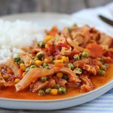 Oven baked chicken fillet with parsley and lemon – Mi Diario de Cocina Beef Tripe, Oven Baked Chicken, Dory, Parsley, Thai Red Curry, Baking, Ethnic Recipes, Queso, Mousse
