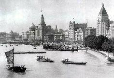 Shanghai's Huang Pu River circa early 1900′s