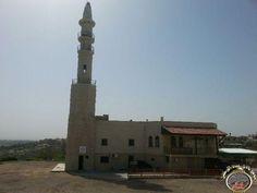 العاصفة تضرب مسجد المرجة في زيمر