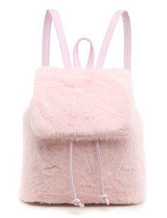 SPICE UP YA LIFE PINK - Backpacks - Bags - LAMODA £24.99 over on WWW.LAMODA.CO.UK #FLUFFY #GHETTO #BACKPACK