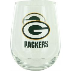 Show your allegiance every time you take a sip with this officially licensed curved glass. This curved glass from Boelter Brands holds approximately 16 ounces and displays your favorite team in a quality design. Green Bay Packers Merchandise, Curved Glass, Wine Glass, Beverages, Curvy, Logo, Glasses, Eyewear, Logos