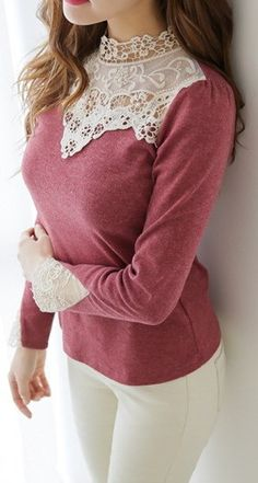 Crochet Pearl Cotton Top   Jane