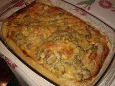 Γρήγορη πίτσα με σφολιάτα - gourmed.gr