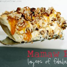 Mamaw Pie {Layers of Fabulousness} Mamaw Pie Recipe, Flan, Pie Dessert, Pie Coconut, Toasted Coconut, Coconut Pecan, Coconut Cream, Guilty Pleasure, Cold Desserts