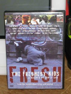 THE FRESHEST KIDS (DVD, 2002, A HISTORY OF THE B-BOY, HIP HOP)