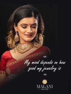 Good #jewelry = good mood #MalaniJewelers #NecklaceSet Jewelry Quotes, Good Mood, Necklace Set, Jewels, Gold, Jewerly, Gemstones, Fine Jewelry, Gem