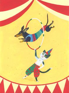 Bistra illustrations #circus