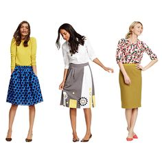 Get skirty. From Boden ...