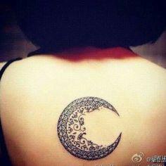 Beautiful moon; new beginnings.