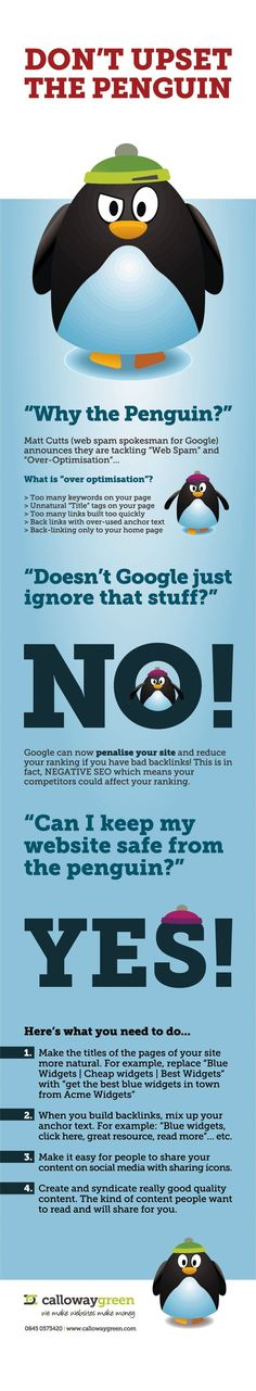 How to Make the Google Penguin Happy [Infographic] #searchengineoptimizationdefinition,