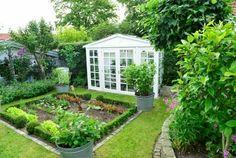Dalby romantisk have og drivhus