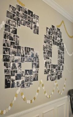 Number Photo Collage – great for birthday or anniversary parties. Number Photo Collage – great for birthday or anniversary parties. 60th Birthday Ideas For Dad, 90th Birthday Parties, 65th Birthday, Birthday Woman, 60 Birthday Party Ideas, 60th Birthday Party Decorations, Women Birthday, Birthday Cake, Birthday Celebrations