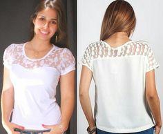 Moda y Costura Consejos: RECICLAJE camisetas.