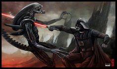 Darth Vader vs. Aliens