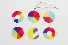 Pie Chart Gift Tags