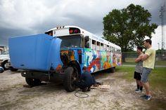 Bus broke down...