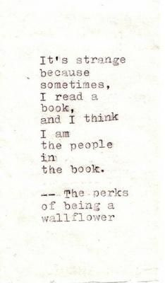 charming life pattern: the perks of being a wall flower - quote - movie