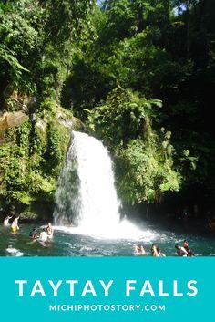 Michi Photostory: Taytay Falls
