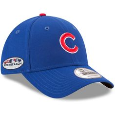 bea194f26 Chicago Cubs 2018 Postseason Side Patch 9FORTY Adjustable Hat by New Era®   ChicagoCubs  Cubs  FlyTheW  EverybodyIN  GoCubsGo