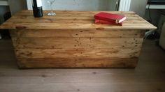 Handmade Rustic Coffee Table with Storage - handmade from Reclaimed Wood - Multifunctional £160 on #etsy #rustic #handmade